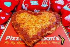 Love is in the air and so is the aroma of our Valentine's Day Heart-Shaped Pizza! #PizzaManDans Available February 7th through the 14th with your choice of any two toppings and a beautiful Pepperoni outline! *New* Add Beer or Wine to your next Delivery Order!
