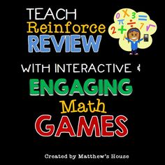 Teach, reinforce and review math concepts in a fun and engaging way.  Math games for exponents, fractions, oreder of operations, multiplying monomials, prime and rational numbers.