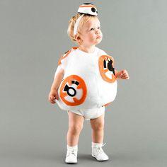Save this BB8 Star Wars kids DIY Halloween costume idea.