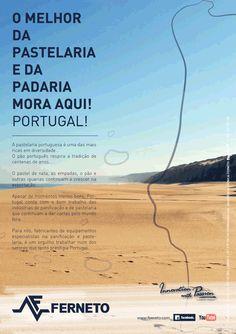 Anúncio publicitário: revista A Padaria Portuguesa (Portugal) — Ferneto