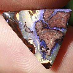 Boulder opal from Koroit, Australia Matrix Opal, Bouldering, Purple, Viola
