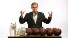"""[video]  Bill Nye: Screw Deflategate. You Should """"Give a Fuck"""" About Climate Change Instead."""