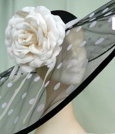 Oooh!  This would be a great derby hat!