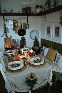 Pergola, Table Settings, Christmas, Provence, Patio, Fire Places, Xmas, Outdoor Pergola, Place Settings