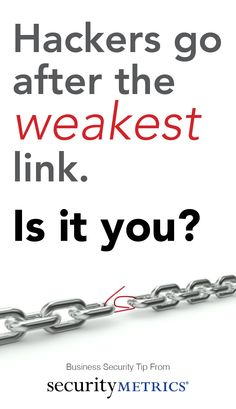 Is your business the weakest link?