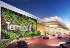 saa architects, benoy limited, singapore airport, changi airport, green wall, Peranakan architecture, garden city, biometric technology, dav...