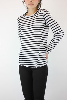 BASSIKE STRIPED TOP ..