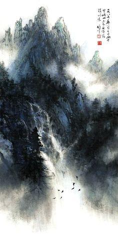 黎雄才-岭南画派的绘画艺术,Li XiongCai - The Art of Lingnan School