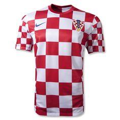 Croatia 12/14 Home Soccer Jersey - Euro2012StoreAmerica.com