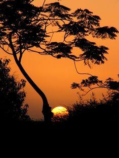 sunset in oman, photo by asif rafiuddin