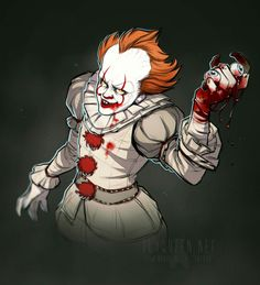 ARE THOSE EYES PENNYWISE ?