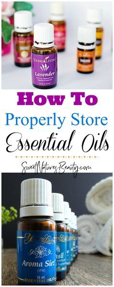 Save your favorite essential oil from oxidation by storing them properly. Essential Oil Tips