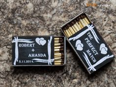 Wedding Matchbox Labels Chalkboard  Printable Personalized PDF file . by VSstudio on Etsy https://www.etsy.com/listing/210664790/wedding-matchbox-labels-chalkboard
