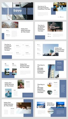 Hotel PowerPoint Presentation Template Cool Powerpoint, Powerpoint Design Templates, Booklet Design, Keynote Template, Flyer Template, Best Presentation Templates, Presentation Layout, Presentation Slides Design, Desgin