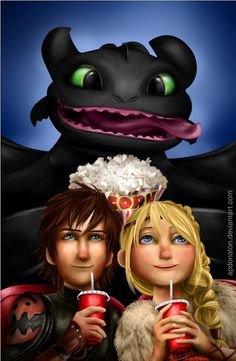 Watching httyd2 Hiccup: ''Wow were we that awesome???""