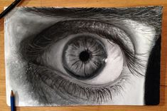 Eye Pencil Drawing by AtomiccircuS on DeviantArt