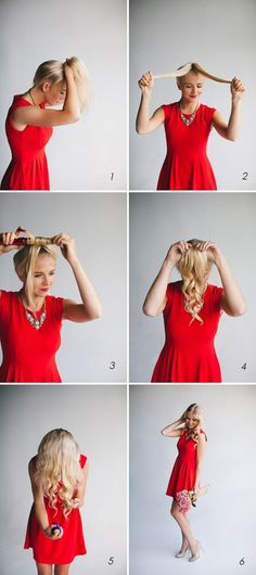 Best Hair Styling Hacks for Lazy Girls..OR girls who have very little time to get ready!!!