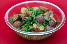 Potato-green Bean Salad with Anchovy Vinaigrette