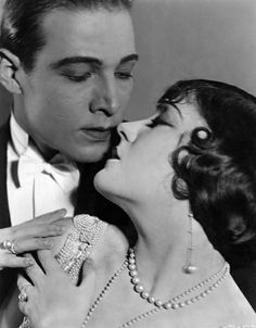 Rudolph Valentino & Gloria Swanson in  Beyond the Rocks