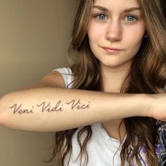 That is so sick polish tattoo ink piercings - Tatouage veni vidi vici ...