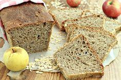 wesoła kuchnia: Owsiany chleb z jabłkami