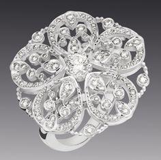 Chanel Camélia Dentelle Ring