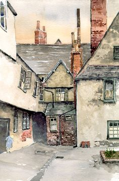 Watercolour Artists Gallery - Mike Lester