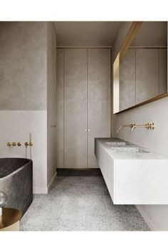 Your luxury bathroom is one of the most, if not the most, important divisions when it comes to modern design due to its purpose for relaxation and peacefulness. #bocadolobo #luxuryfurniture #interiordesign #designideas #modernbathroom #homedecor #interiordesigninspiration #luxuryinteriordesign #interiordesignstyles #inspirationfurniture #bathroomdesign #bathroomdesignideas #inspiration