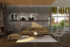 Give Your Living Area a Contemporary and Modern Touch With Lighting