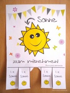 Guten morgen ihr lieben. Vermisst ihr auch die Sonne so schrecklich? Ich hab für euch mal fix was gebastelt zur Aufmunterung. Einfach downloaden, ausdrucken und aufhängen. Viel Spaß Eure Dani Download unter: http://www.jetzt-wirds-bunt.de/news/