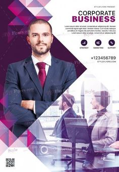 Corporate PSD Flyer Template and more than Premium PSD flyer templates for event, loud party or successfull business. Graphic Design Flyer, Event Poster Design, Corporate Design, Ad Design, Brochure Design, Business Design, Poster Designs, Photography Flyer, Business Poster