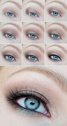 Beautiful eyes & make up!