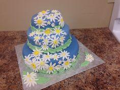 Three tier- chocolate cake with SMB and vanilla marshmallow fondant. Cake #3
