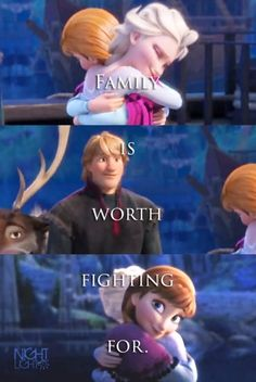 Family is worth fighting for