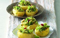 undefined Potato Boats, Humble Potato, Peanut Oil, Fried Potatoes, Frittata, Potato Recipes, Side Dishes, Veggies, Favorite Recipes