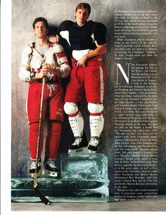 Brendan Shanahan and Steve Yzerman - Detroit Red Wings