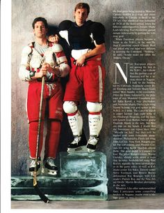 Brendan Shanahan and Steve Yzerman - Detroit Red Wings