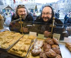 The best TV chefs EVER! The Hairy Bikers…
