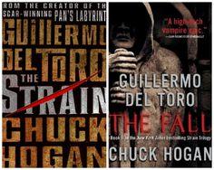 The Strain trilogy by Guillermo Del Toro & Chuck Hogan
