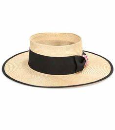 Raffia hat | Thom Browne