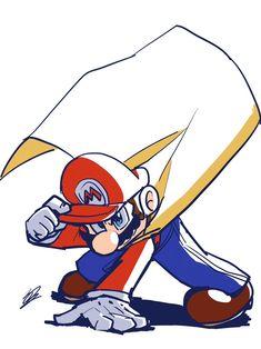 Super Mario All Stars, Super Mario Games, Super Mario Art, Mario And Luigi, Mario Bros, Super Smash Ultimate, Mario Fan Art, Funny Wood Signs, Paper Mario