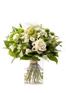 Bouquet Classique Rose Alstroemeria Blanc Vert - CONFIDENCE. 1,50€ remboursés sur tout le site #Interflora via #eBuyClub http://www.ebuyclub.com/interflora-512?trckpro=Pinterest_partage