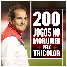 16.11.2014 - Muricy completa 200 jogos no Morumbi comandando o São Paulo na partida contra o Palmeiras, pelo Brasileirão