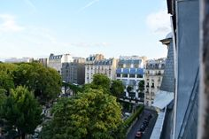 View of Montmartre and Sacre Coeur, Paris France | Design Inspiration from @lesleymyrick