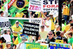 Protestos colocam governo Dilma Rousseff em xeque - Brasil - O Dia