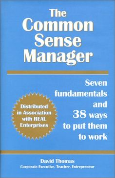 The Common Sense Manager helps people who have to manage a business without benefit of training or experience in management to build a sound foundation for the future of their companies by describing seven management fundamentals: (1) know where you want to go; (2) ask good people to help you get there; (3) make sure everyone knows what you're up to; (4) understand your customer's needs, and fill them; (5) anticipate technology; (6) plan, act, review, correct (7) improve continuously.