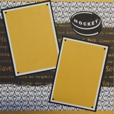 mixed hockey - Scrapbook.com