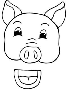1000 images about teaching drama on pinterest readers for Pig puppet template