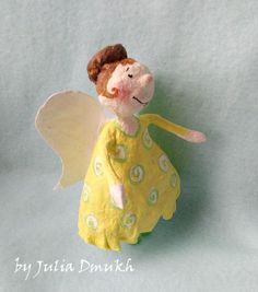 OOAK Art doll Easter gifts Collectibles art doll by MySunnyStudio