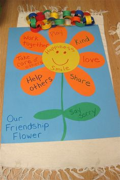 25 best ideas about preschool friendship activities on Preschool Lessons, Preschool Classroom, Preschool Art, Kindergarten, Preschool Flower Theme, Preschool Family Theme, Emotions Preschool, Preschool Pictures, Toddler Classroom